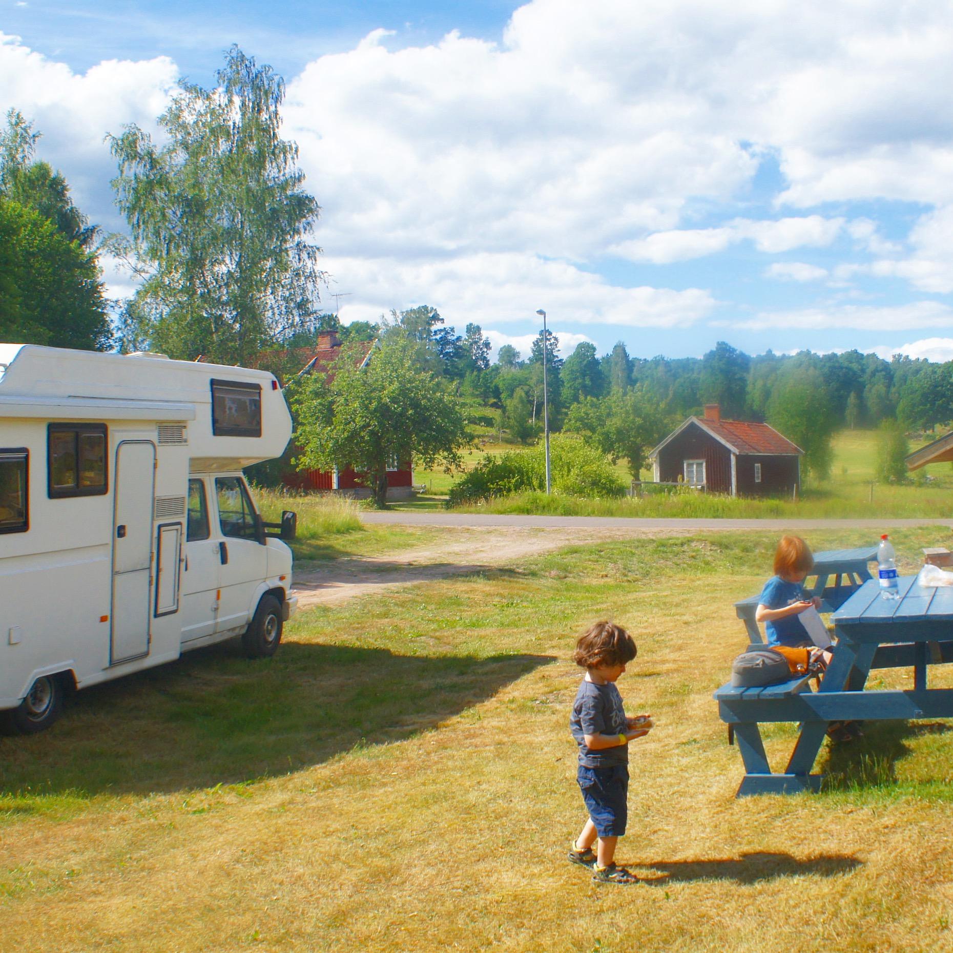 Schwedenurlaub mit dem Wohnmobil die schönsten Wohnmobilstellplätze in Südschweden